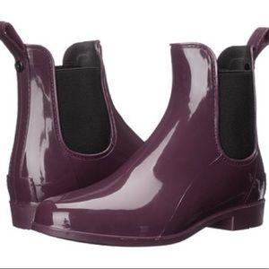 Sam Edelman Tinsley Sangria Rain Boots Size 8